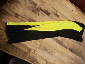 Women's XS Pearl Izumi Select Black & Yellow Running / Biking Tights
