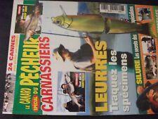 ** Le canard du pêcheur Carnassiers n°131 silure / 24 cannes pêche au leurre