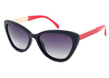 Eternal Polarised Women Ladies CatEye Fashion Sunglasses for Driving Red Black