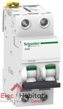 Schneider Electric A9 F75216 Ic60 N Disjoncteur Acti9 courbure D 2p 85 mm HA