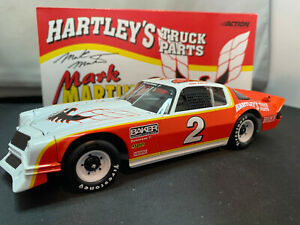 Action #2 Mark Martin Hartley's 1979 Chevy Camaro Xtreme NASCAR 1/24 Diecast