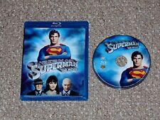 Superman: The Movie Blu-ray 2006 Richard Donner Christopher Reeve Margot Kidder