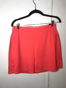 Nike Womens Dri-FIT Victory Golf Skirt Laser Crimson Size M BV0253-644