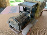 ANTIQUE 1920s Keystone Packard US Mail Truck Pressed Steel