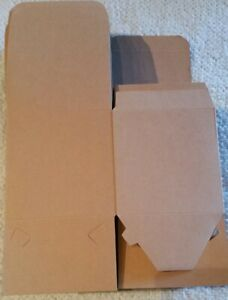 kraft brown boxes,49pcs,4inches,paper gift with lids for gift,mugs,cupcake boxes