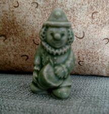 Wade England Clown Red Rose Tea Figurine vintage green clown figurine old EUC