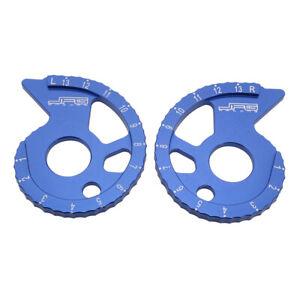 Chain Adjuster For DT200R WR200R WR500Z TTR250 WR250Z WR250 Motorcycle CNC Blue