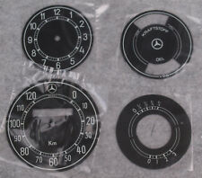 Tacho- Uhr- Kraftstoff-  Öldruckblatt  4tlg.  Mercedes 170V W136,