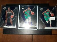 🔥Zion Williamson and Ja Morant Mosaic  Rookie Lot Of 3 🔥🔥