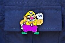 Nintendo Super Mario Collector Pins Series 1 - Wario - Limited Badge Switch 3DS