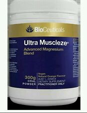Ultra Muscleze Magnesium oral powder 300g - OzHealthExperts