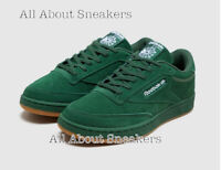 """Reebok Club C 85 """"Green White"""" Men Trainers All Sizes Limited Stock"""