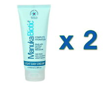 2 x New Manuka Biotic Complete Hydration Natural Face Cream 100ml Treat Acne