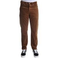 Carhartt Newel Pant Pantalone Uomo I027232 HZ02 Hamilton Brown Rinsed