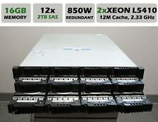 XYRATEX IBM HS-1235E 12 BAY RAID/FREENAS Server XEON L5410 2.3GHz / 16GB / 24TB