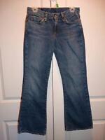 Women's LUCKY BRAND Distressed Sweet N' Low Denim Jeans Pants Size 4 / 27
