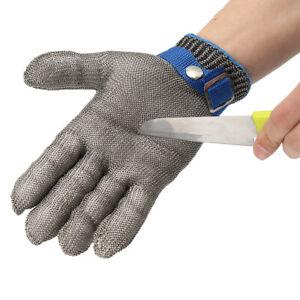 1Pcs Stechschutzhandschuhe Kettenhandschuh Sicherheits-Handschuh Einzeln Metzger