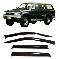 For Toyota Hilux Surf 5d 1989-1995 Window Visors Sun Rain Guard Vent Deflectors