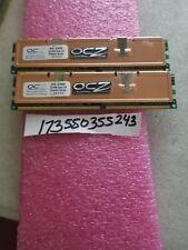 OCZ Premier 1GB (2 x 512MB) 184-Pin DDR SDRAM DDR 400 (PC 3200) Dual Channel Kit