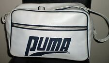 Women`s PUMA Vintage Sports Duffle Gym Bag EUC!