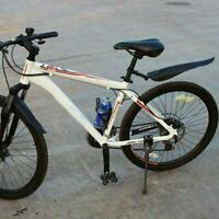 Mountainbike Fahrrad Rennrad Reifen Vorne Hinten Kotflügel U3U0 Schwarz Set Y8I4