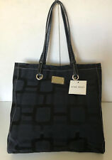 NEW NINE WEST RENO SIGNS VERSION 2 BLACK SHOPPER TOTE SATCHEL BAG PURSE $84 SALE