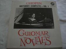 NEW  Chopin Nocturnes (Complete) Vol. I GUIOMAR NOVAES VINYL LP ALBUM