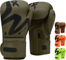 RDX Boxing Gloves Muay Thai Fighting Punch Bag Mitt Sparring Kickboxing Training