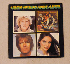 4 Great Artists /LP Glen Campbell, Crystal Gayle, Kenny Rogers, Anne Murray