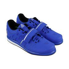 Reebok Lifter Pr DV4588 мужская синяя спортивный тренажерный зал, низкий топ тяжелая атлетика обувь
