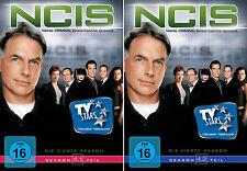 6 DVDs * NCIS -  STAFFEL / SEASON 4 ( 4.1 - 4.2 ) IM SET - NAVY # NEU OVP +