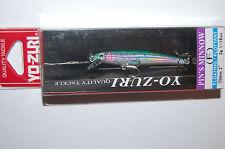 """yo zuri pins pin's minnow f196-m99  2"""" 1/16oz rainbow trout lure ultralight"""