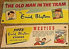 WEETIES AUSTRALIA CEREAL GIVEAWAY PROMO ENID BLYTON OLD MAN IN THE TRAM COMIC VF