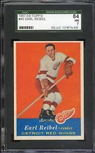 1957 Topps #045 Earl Reibel SGC 84 NM