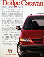 1996 Dodge Caravan/Grand Caravan sales brochure -SMALL