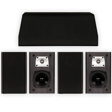 Theater Solutions B1 and C1 Bookshelf Surround Sound Home Theater 5 Speaker Set