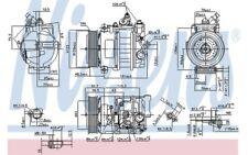 NISSENS Compresor aire acondicionado 890322