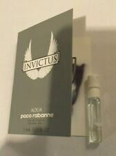 INVICTUS AQUA by Paco Pabbane  EDT sample spray vial 1.5 ml