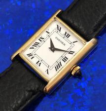 Unisex Cartier Hand Wind Wristwatch Roman Numerals , Fully Serviced w/ WARRANTY