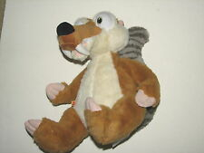 Build A Bear Ice Age Continental Drift Squirrel Scrat Plush Doll Velcro Tail 11""