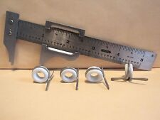 (4) Vintage Poreclain Fly-Rod Stripping Guides / Size #14 / Bamboo Fly-Rods