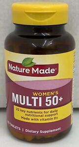 Nature Made Multi for Her 50+ Vitamin/Mineral Tablets 90ct EXP Sep 2021