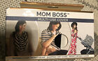 Mom Boss Multi Use Cover Nursing, Scarf,Car Seat and Cary Cover Itzy Ritzy New