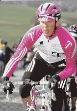 CYCLISME carte cycliste DIRK MULLER équipe TEAM DEUTSCHE TELEKOM
