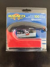"100lb Pull BIG ERGONOMIC HANDLE MAGNET 5""X3.5""x1"" Master Magnetics 07501"