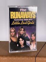 The Runaways featuring Joan Jett  Little Lost Girls Cassette Very Rare