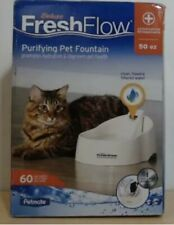 New listing Petmate Deluxe Fresh Water Flow Purifying Dog And Cat Water Fountain 50 Oz