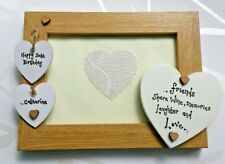 CHIC personalised photo frame Best Friend 18 30 40 50th 21st Birthday present ♡