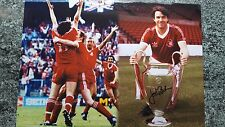 Signed nottingham forest john robertson picture