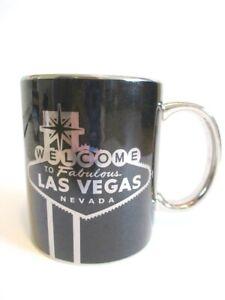 Las Vegas Coffee Cup Welcome Sign Coffee Mug Ceramic Collag Souvenir